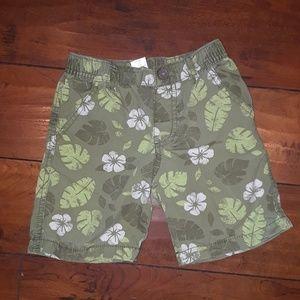 Gymboree boy Hawaiian tropical Shorts 4T